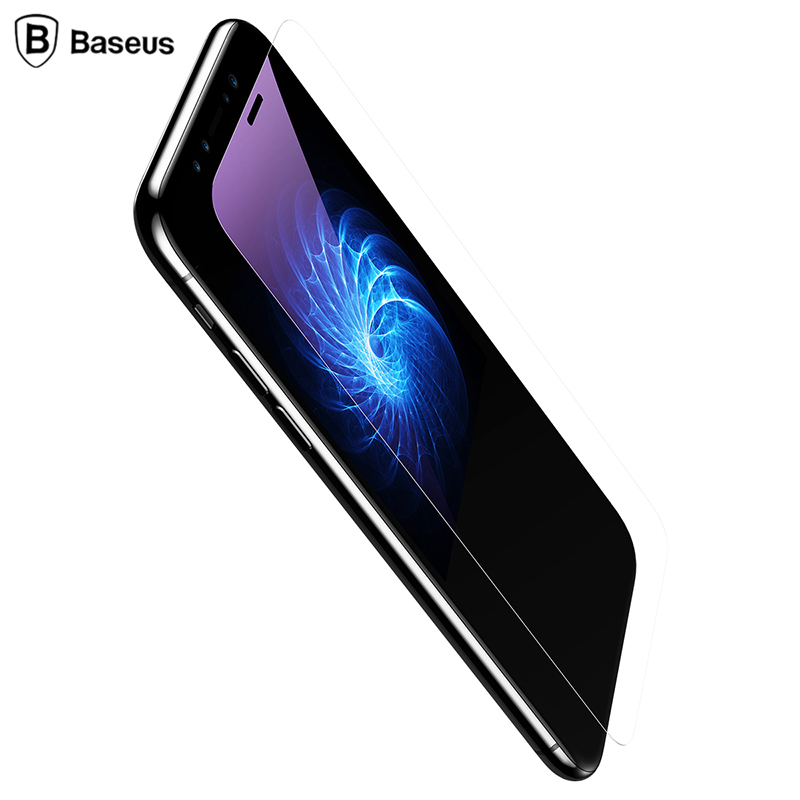 Baseus 0.2mm 9H Tempered Glass Screen Protector For iPhone
