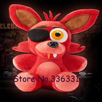 Five Nights At Freddy's 4 FNAF Foxy Fox Freddy Fazbear Bear Doll Plush Toys 10