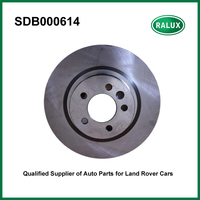 SDB000614 front V8 4.4L Brake Disc for Discovery 3 2005 2009/Range Rover Sport 2005 2009 auto brake pad set spare parts supply