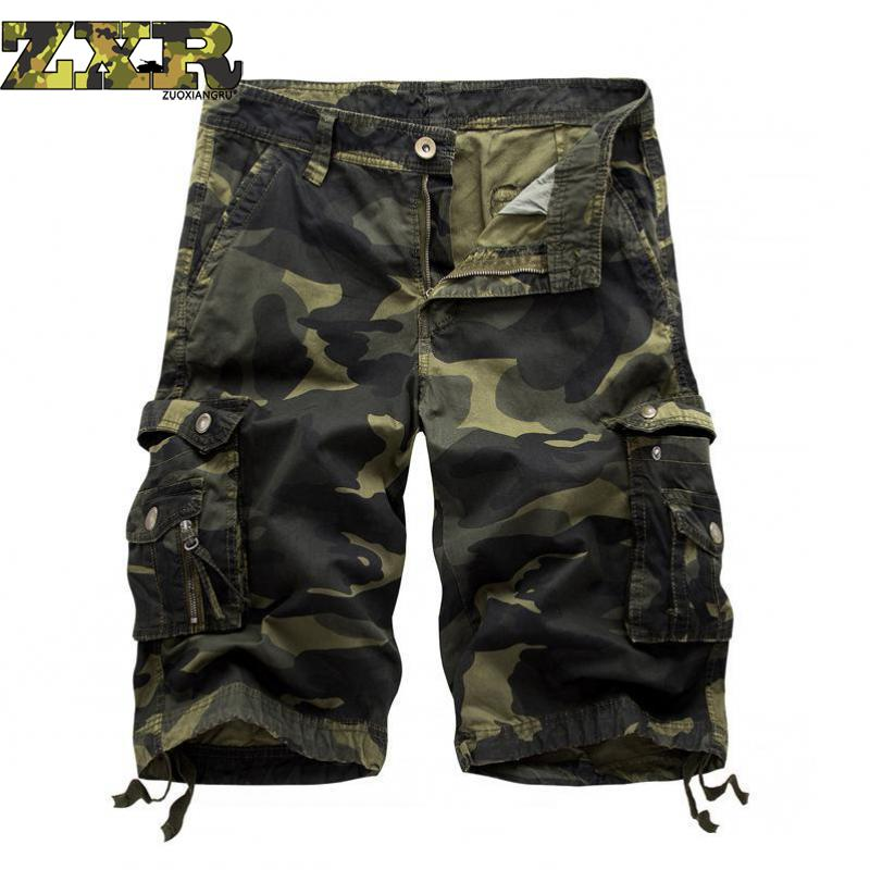 New Summer Cotton Sport Hiking Tactical Shorts Men Outdoor Running Camping Combat Short Trousers Breathable Military Bermudes