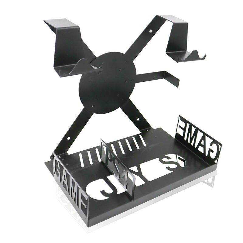 1 шт. игровой консоли Горизонтальное настенное крепление полка для PlayStation4 PS4 про тонкий xbox один с консоли игровой консоли настенное креплени...