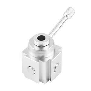 Image 3 - Aluminum Mini Lathe Tool Holder Quick Change Post Cutter Holders Screw Kit Boring Bar Turning Facing Stand Wrench with Hex Keys