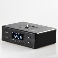 Mini Radio FM Digital Receiver with LCD Displayer Portable Wireless Bluetooth Speakers Subwoofer Smart Charger Dock Station