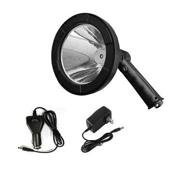 5 ручной Точечный светильник водонепроницаемый открытый рабочий светильник перезаряжаемый супер яркий светодиодный прожектор для охоты р... >> Gather Beauty Style