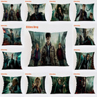 Harry Potter Style Cushion Movie scene characters Pillowcase Home Decorative Pillows for Euro Pillow Home Decor Almofada