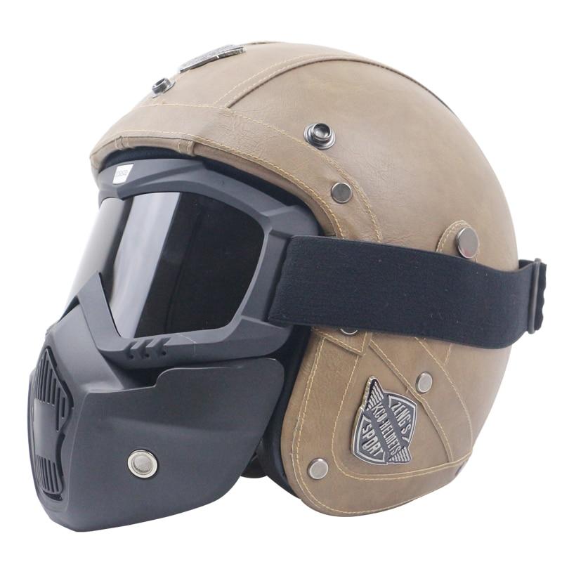 Aliexpress Com 100 Handmade Motorcycle Helmet Leather Cover