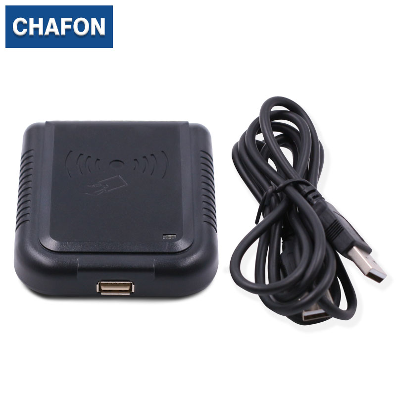 Chafon Adjustable Formats 125Khz RFID Card Reader Proximity Sensor USB EM4100 TK4100 Cards Reader for personal identification