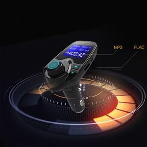 Image 4 - Bluetooth Trasmettitore FM USB Kit Per Auto Aux 12V Lecteur USB Voiture In Metallo E Plastica MP3 Lettore Auto Per Auto ABS Bluetooth MP3