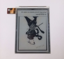 ED060XD4 100% Mới Eink 6 Inch Màn Hình LCD Cho Đọc Ebook Không Đèn Nền Và Cảm Ứng Ritmix RBK 615 RBK615 Màn Hình da Bóng
