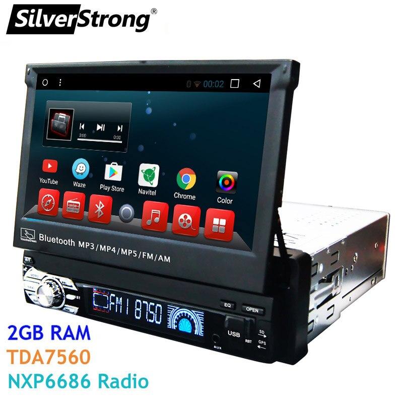SilverStrong 1Din Android7.1 Universel 7 pouces Voiture DVD Auto Radio Android Voiture Stéréo Universel multimédia par Kaier produit