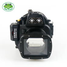 For Canon Camera EOS M Housing Underwater 40m Videography Photograpy Waterproof Case Cover Scuba Sport Camera Protective Bag стоимость