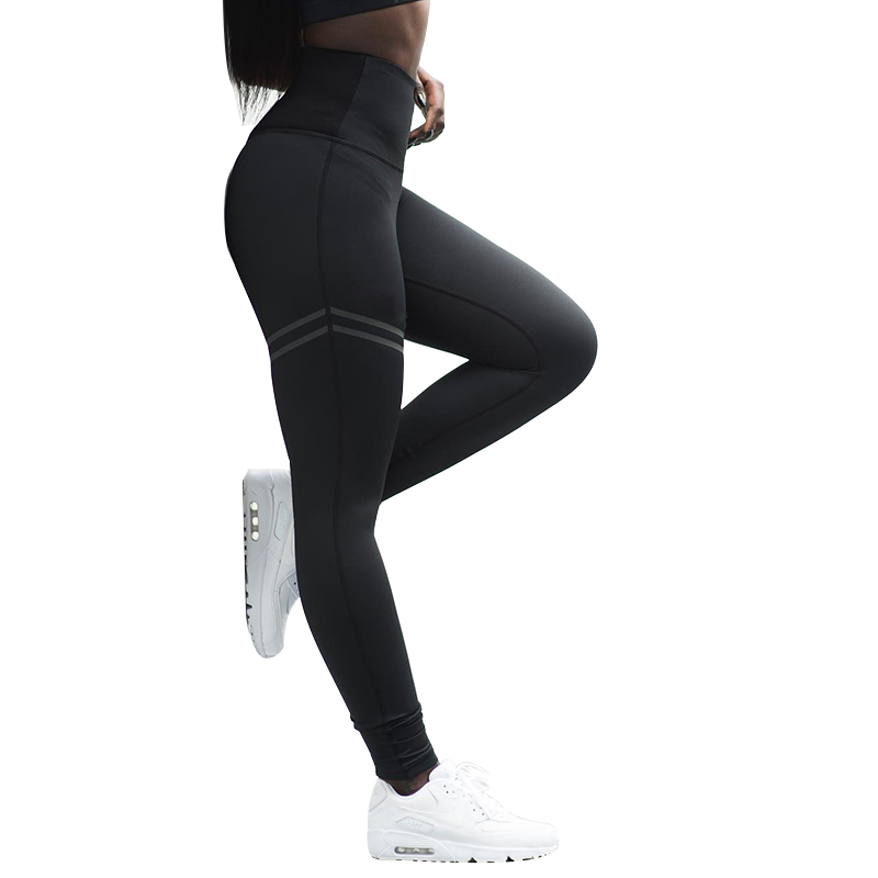 Slim Fitness   Leggings   Women Compression Push Up Leggins Clothing Workout Printing Patchwork Trousers LXX9