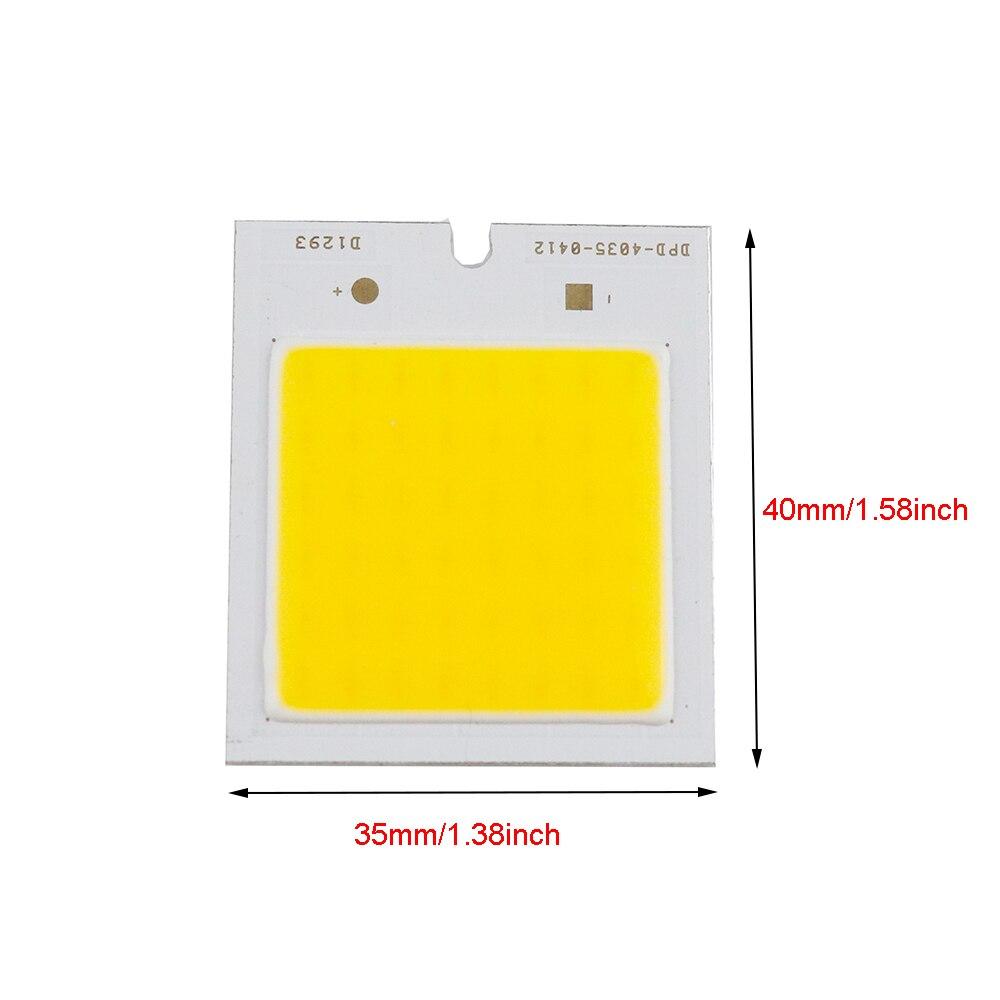 2pcs 3w Cob Led Light Source Epistar Chip Dc12v Ultra Bright 4035mm How To Build Lamp Diy Item For Bulb Spotlight Floodlight Uw In Bulbs Tubes From Lights