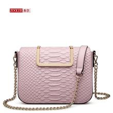 Limited!ZOOLER Serpentine pattern women leather bag real leather messenger bags stylish woman shoulder bag bolsa feminina #6926