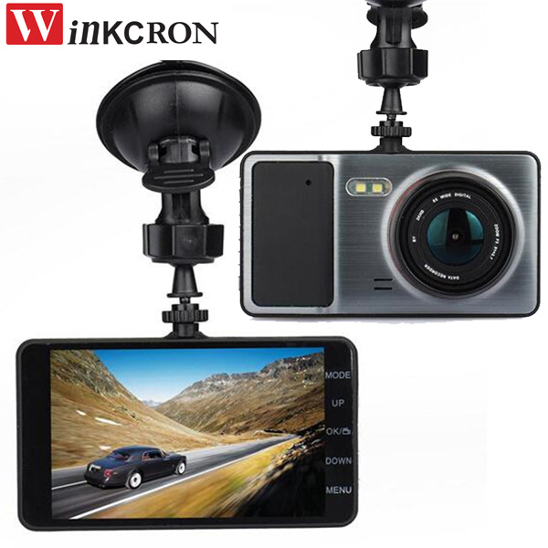 4 Car DVR Camera Full HD 1080P  Dual Lens Video Recorder Super Night Vision Dash Cam Vehicle camera dual dash camera car dvr with gps car dvrs car camera dvr video recorder dash cam dashboard full hd 720p portable recorder dvrs