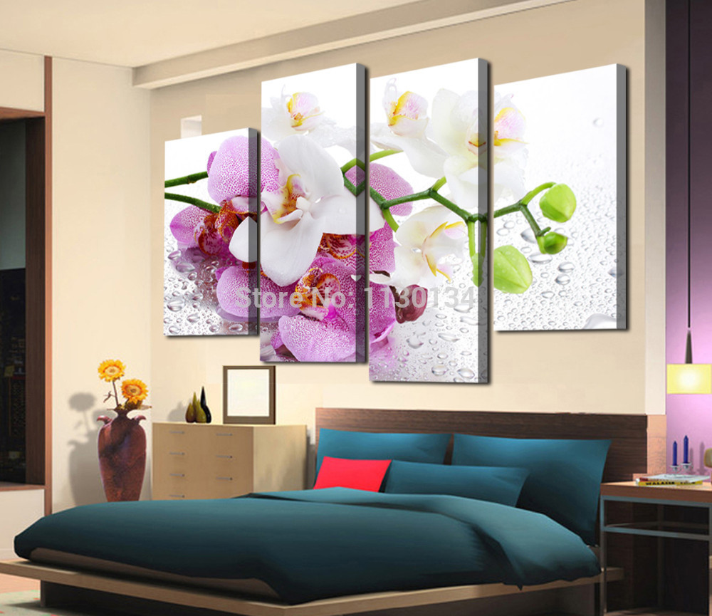 Abstract wall decorations - Buy Pink Flowers Diy Abstract Flowers Diamond Painting Sets Resin Square Drill Canvas Basis Wall Art Decorative Paintings Cx813 From