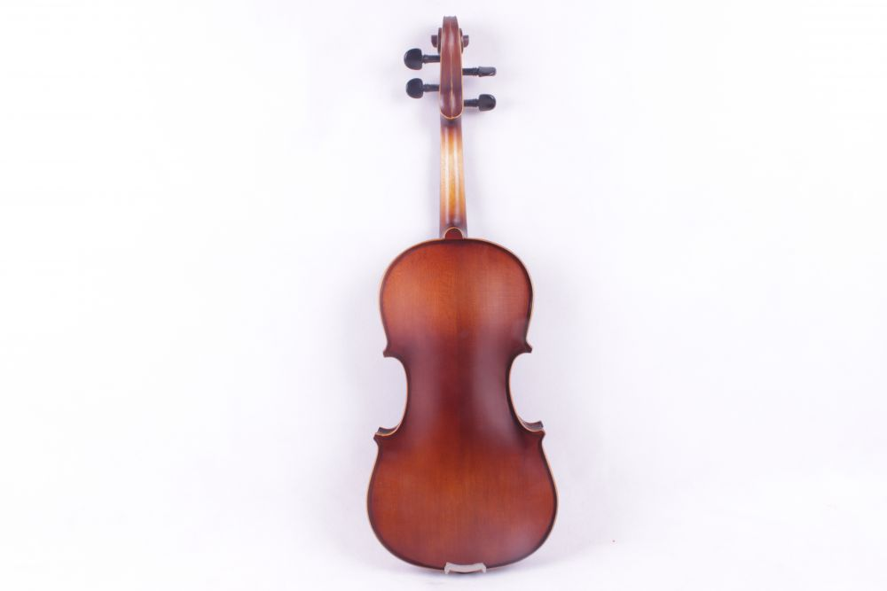 4-String 4/4 New Electric Acoustic Violin dark brown color #1-2541# 4 string 4 4 new electric acoustic violin dark green color 1 2541