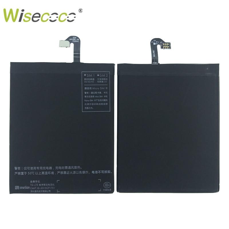 100% протестированная батарея для Smartisan U1 YQ601 YQ603 YQ605/7 DC601, сменный аксессуар для ремонта сотового телефона с номером отслеживания