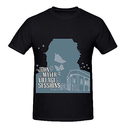 John Mayer The Village Sessions Soundtrack Men Round Neck Graphic Shirts ...