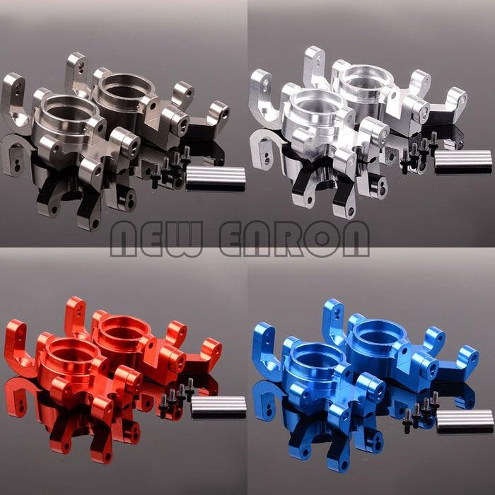2P Aluminum Steering blocks, left & right 7737 For RC Traxxas X Maxx 77076 4 1/5