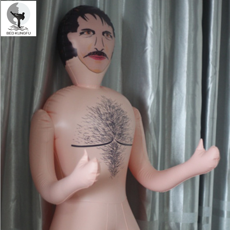 Bed Kungfu Male Sex Doll Pvc Male Dolls Pictures 300G Flat -9811