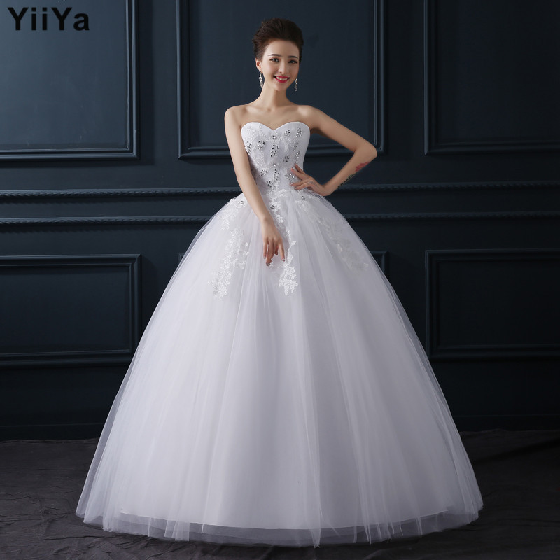 free shipping new 2015 cheap fashion wedding frock white wedding gown bridal designer wedding dresses vestidos