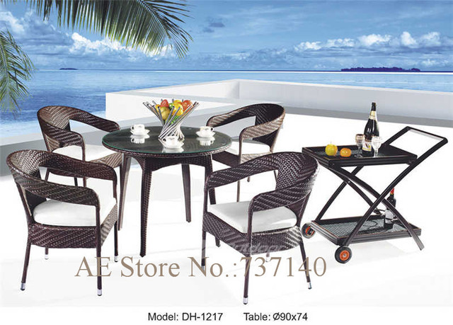 Outdoor Dining Set Rattan Furniture Outdoor Furniture Round Table U0026 Chair  Foshan Furniture Agent Wholesale Price