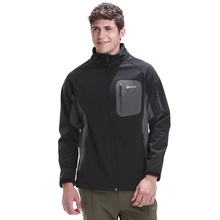 Rax Softshell Jacket Men Hiking Jackets Windproof Winter Jackets Outdoor Camping Jackets Thermal Coat 42-1E016
