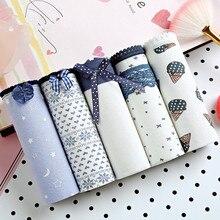 2018 New Arrival 5pcs Sexy Cute Style Fashion Women's Panties Briefs Seamless Underwear Grils Briefs High Quality Flora Lingerie