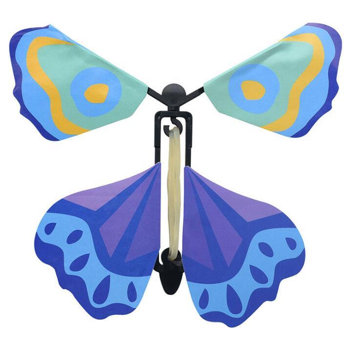 Vente en gros 100 pièces lot magie papillon volant des mains vides liberté papillon tours de magie mentalisme magie bébé jouet accessoires de magie - 2