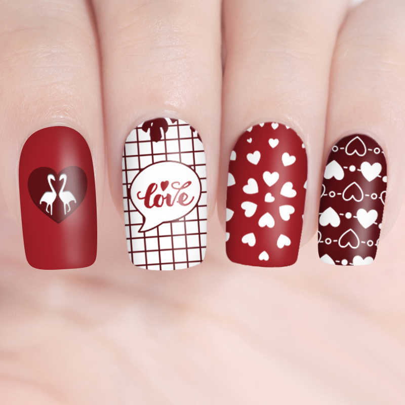 Detail Feedback Questions about BORN PRETTY Rectangle Nail Stamping ...
