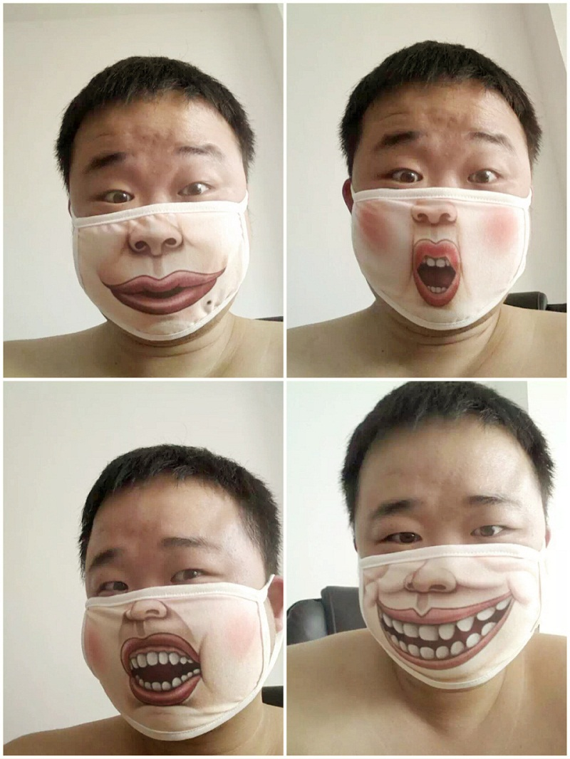mouth mask Funny