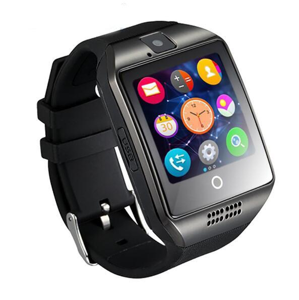 Q18 Smart Watch kamera TF SIM Card Phone Se Sync SMS Facebook Twitter - Mænds ure - Foto 6