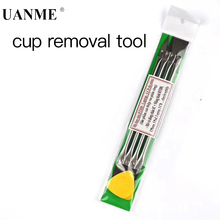 UANME 4PCS IC Chip Repair Thin Blade Remover with Handle for A8 A9 CPU Processors NAND Flash Mainboard ti am3358 cpu module mcc am3358 j cpu module 1ghz ti am3358 series arm cortex a8 processors 256mb ddr3 sdram 256mb nand flash