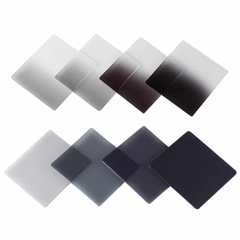 Cámara Zomei, Filtro de gradiente de densidad neutra Gradual, filtros ND cuadrados de resina, adaptador Porta anillos Cokin P Series, sistema para DSLR
