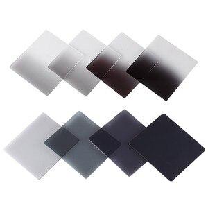 Image 4 - كاميرا Zomei Filtro متدرج الكثافة المحايدة التدريجي ND مرشحات مربعة من الراتينج مهايئ حلقات حامل نظام سلسلة Cokin P لـ DSLR