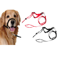 1 Pcs Pet Dog Anti-bite Mouth Guard Cover Adjustable Breathable Mask Chew Control WXV Sale