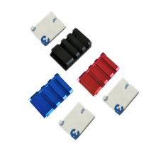 4PCS CNC Aluminum Alloy ESC Protective Shell Hood Cover FPV Speed Controller Protection Case for Drone Parts Accessories