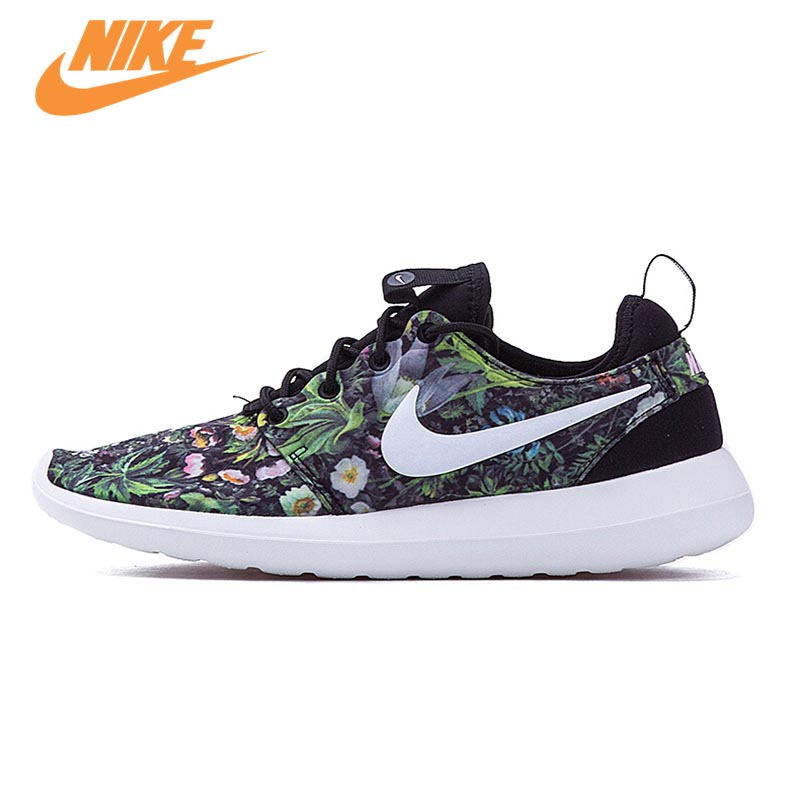Original New Arrival Official NIKE ROSHE TWO PRINT Women's Low Top Running Shoes Sneakers original new arrival nike roshe one hyp br men s running shoes low top sneakers