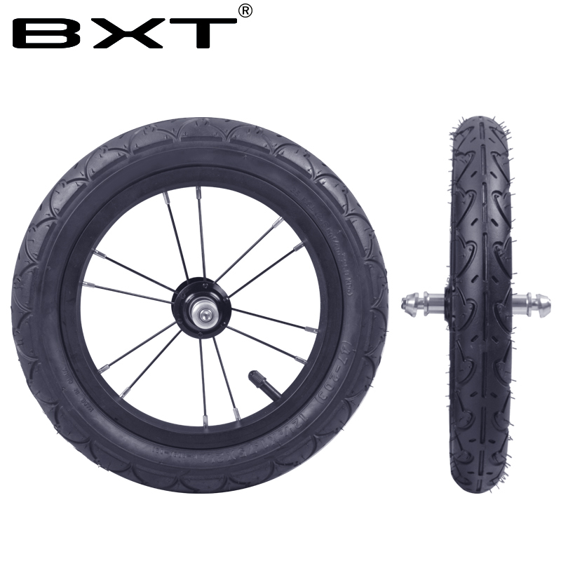 BXT Mini Ultra light 12Inch Wheel Set Aluminum Alloy Wheels Tire V-Brake kid's bike Wheelset Bicycle Parts Children Accessories tg light wood frame mirror lens sunglasses women men polarized luxury brand fashion designer gafas del sol polarizardas