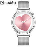 Ladies   Watches     Women   Quartz Stainless Steel   Bracelet   Hollow Analog Mesh Band Luxury Brand Designer Wristwatch Fashion Dress