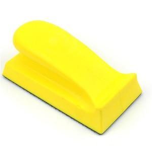 Image 5 - POLIWELL 1 шт. 1 ~ 6 дюймов PU пена шлифовальный держатель диска Наждачная бумага подложка полировальная подушка ручной шлифовальный блок все размеры шлифовальный коврик