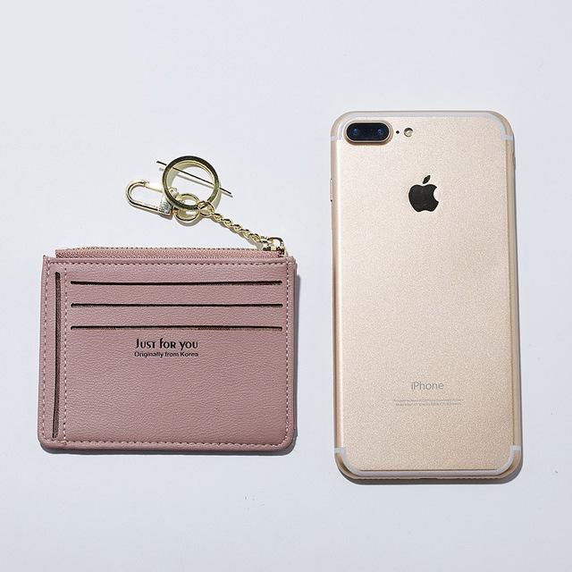 Cute Convenient Soft Leather Women's Mini Wallet