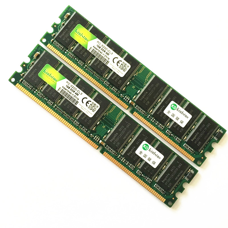 New 1GB DDR 400 MHZ Memory Desktop PC - 3200 1 Gb Perfectly Compatible With All DDR1 Desktop Computer