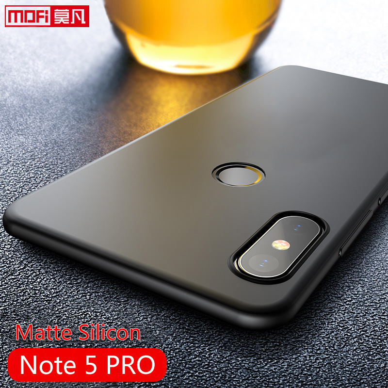 "Xiaomi Redmi Note 5 Pro Case Cover Redmi note 5 case Silicone Back Soft Slim Protect Black 5.99"" Xiaomi Redmi Note 5 Pro Case"