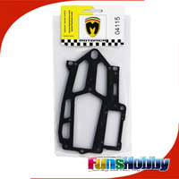Italy Motonica 1:8 On Road RC Model Nitro Car Parts RS Radio Plate with PHS (Carbon Fibre) Applied to P81 RS(COD.04115)