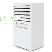 Mini Portable Air Conditioner Table Desk Small Home Office Bladeless Fan Humidifier Quiet Personal Moisturizing Air Cooler fan
