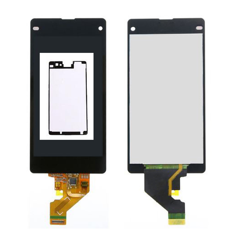 ФОТО Adhesive For Sony Xperia Z1 Mini Compact D5503 M51W LCD Display Touch Screen Digitizer Assembly Free shipping