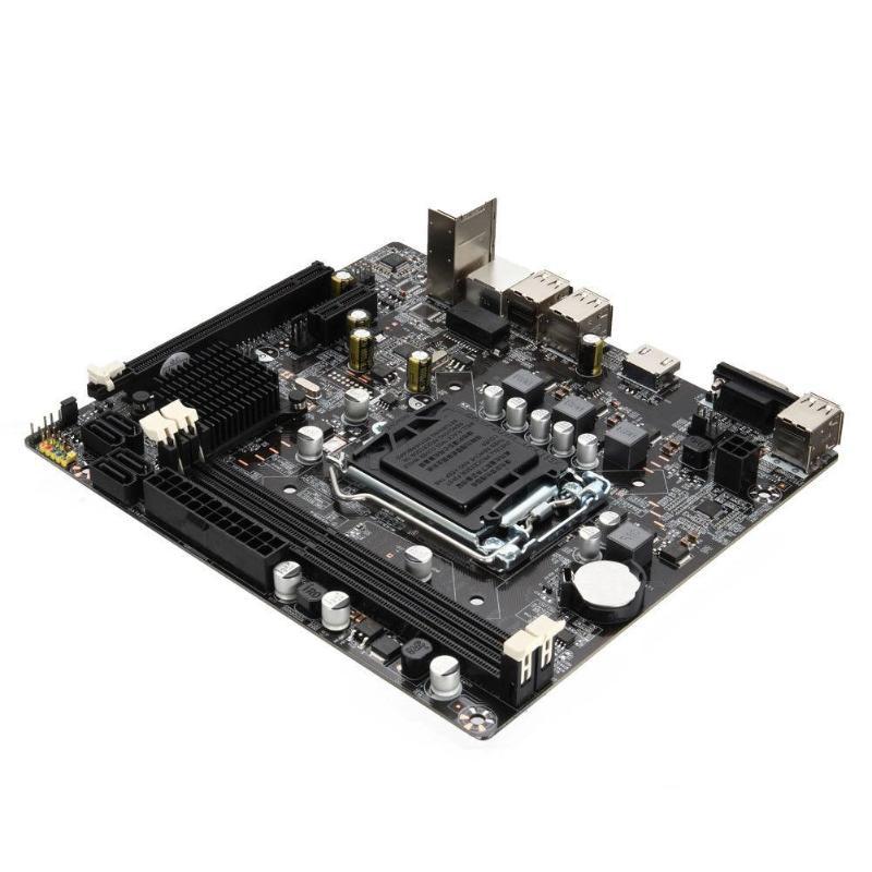 Ordinateur de bureau Carte Mère Carte Mère 1155 DDR3 PCIE Micro ATX pour Intel H61 Socket LGA Soutien Core i7/i5/i3/Pentiun/Celeron