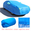 For chevrolet cruze chevrolet captiva aveo malibu grey blue solid waterproof two layers car covers Dust snow anti uv four season